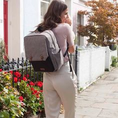 @babymel_official Introducing Brand New to their collection.. The George Grey  Check our Facebook page for more information on this fabulous bag