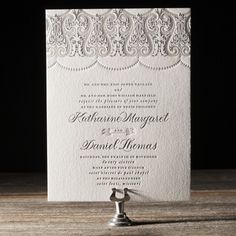Royal Valance by Beth Barr for Bella Figura. Available to order at Persnickety Invitation Studio.
