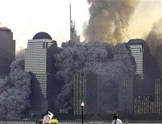 The North tower of the the World Trade Center collapses in New York in this September 2001 file photo. Only 18 people inside the North & South towers of the World Trade Center when they collapsed survived. World Trade Center Collapse, World Trade Center Attack, Trade Centre, We Will Never Forget, Lest We Forget, 911 Twin Towers, 9 11 Anniversary, 11 September 2001, Day Of Infamy