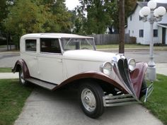 1934 Brewster 4 Dr TownCar Limo