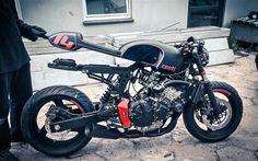The Hornet!   Inazuma café racer