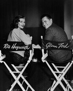 Rita Hayworth y Glenn Ford