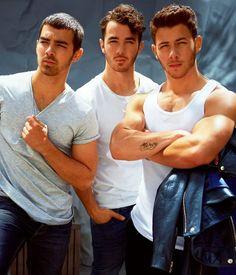 Look at Nick's Biceps - Hot!