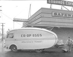 Egg truck.