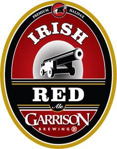 Garrison Brewing Co. Canadian Beer, Beer Art, Beer Coasters, Brewing Company, Craft Beer, Beer Labels, Logos, Irish, Nostalgia