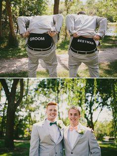 best man and groom underwear