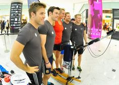 Chemmy Alcott And The Arctic IV Set A New NordicTrack Ski Record In Canary Wharf - via SourceWire.com