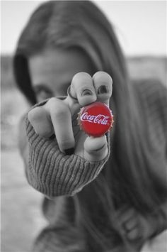Have a nice, cold bottle of coke!