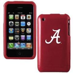Alabama Crimson Tide Crimson Team Logo iPhone Case