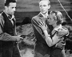 THE PETRIFIED FOREST-1936 Main Actors:Leslie Howard, Bette Davis, Humphrey Bogart Bogart's Character: Duke Mantee