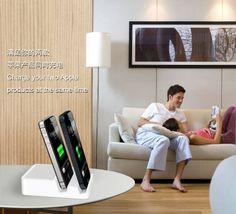 8Pin 30Pin Universal Charging Audio Dock Station for iPhone5/4/4S iPad Mini iPad 4 $26.74