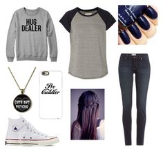 """""""Untitled #166"""" by taco-bell-love ❤ liked on Polyvore featuring Current/Elliott, Paige Denim, Converse and Casetify"""