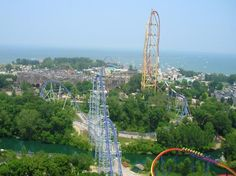 Cedar Point.  The park to see if you love roller coasters.