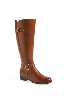 Naturalizer Jersey Boot Leather Riding Boots 032245d8d5625