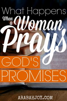 Want to know what happens when a woman prays God's promises? Well then click over to join the revolution going on to find out!