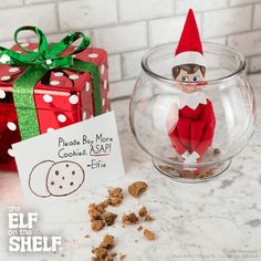 All Out of Cookies! | Elf on the Shelf Ideas