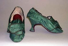 American 1775 - I wonder how many times these shoes could have been worn before they fell apart.