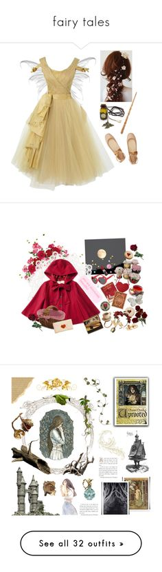 """""""fairy tales"""" by momoheart ❤ liked on Polyvore featuring Chloé, Edition, Sur La Table, art, book, uprooted, novik, naominovik, Needle & Thread and Sharon Wauchob"""