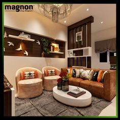 Living Room Design by Magnon Interiors Contact us to get your Home Interiors www.magnonindia.com 📧 reachus@magnonindia.com 📞 +91 8880646464 #Interior #interiordesigner #bangalore Master Bedroom Interior, Home Interior, Home Living Room, Apartment Living, Interior Design Living Room, Living Room Designs, Living Area, Hall Interior Design, Hall Design