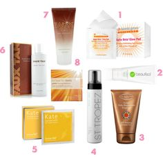 Best Bets: Self-Tanners. A quick guide to the best ones on the market!