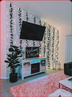 ♡pin @chickenfriedroaches♡ - #teenagecouples Cute Bedroom Decor, Bedroom Decor For Teen Girls, Room Design Bedroom, Teen Room Decor, Room Ideas Bedroom, Bedroom Inspo, Bedroom Wall, Wall Decor, Space Theme Bedroom