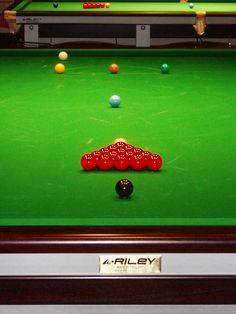 Lorraine C: Red can only mean snooker!