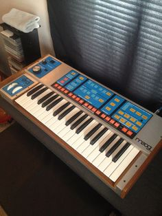 I owned one of these when it first came out.  Bought it at the now defunct Manny's Music in NYC. Played in for many years in my band Very Plaid.  MATRIXSYNTH: Moog Source Analog Synthesizer SN 6489