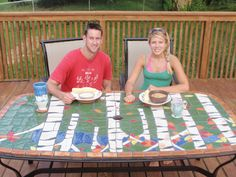 Make Your Own Ceramic Mosaic Patio Table for Cookout Season  By Clay Cunningham, May 16, 2011