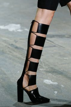the heel is too low:(  Alexander Wang Spring 2013 shoes