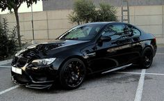 If Batman drove a BMW, pretty sure it would look like this.