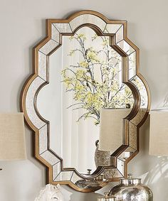 Look at this Bella Quatrefoil Wall Mirror on #zulily today!