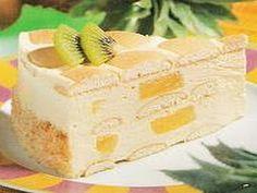 Hospodyně: Piškotový dort s ananasem