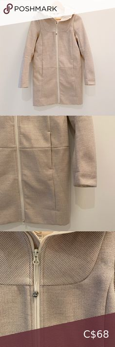 Beautiful long Lululemon jacket Long Lululemon Jacket Please see photos for condition. Some pilling/rubbing inside bottom Sold as is Bundle and save 💃 lululemon athletica Jackets & Coats Lululemon Scuba Hoodie, Lululemon Jacket, Wrap Sweater, Sweater Jacket, Black Sports Jacket, Burberry Brit Jacket, Lilac Grey, Black Clutch