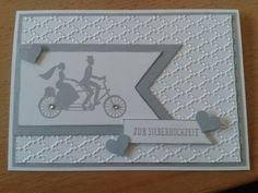 Karte zur silbernen Hochzeit
