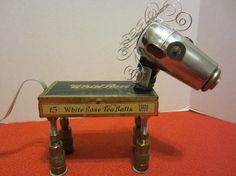 White Rose Horse Bot  found object robot sculpture by ckudja, $125.00