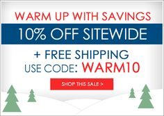 Extra 10% off sitewide!