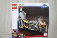 Lego 7596 INSTRUCTION BOOK Toy Story 3 Trash Compactor Escape BOOK 2 #Lego Lego Toy Story, Toy Story 3, Lego Instruction Books, Lego Instructions, Lego Building, Baseball Cards, Disney, Ebay, Disney Art