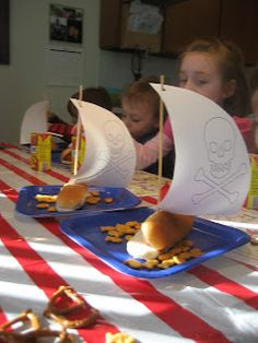 Simply Clean Living: Pirate Birthday Party!