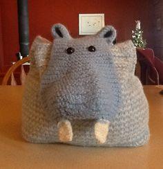 Hippo backpack for Grace