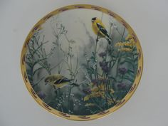 Vintage Lenox Golden Splendor Collector Plate Catherine McClung by marketsquareus on Etsy