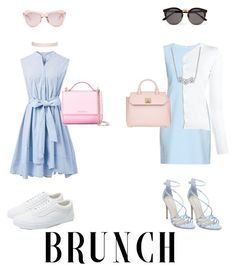 """""""Mother and Daughter Brunch"""" by jaypie-1 ❤ liked on Polyvore featuring Chicwish, Diane Von Furstenberg, Vans, Steve Madden, Humble Chic, Karen Walker, Givenchy, MCM, Illesteva and Cruciani"""