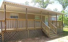 Image result for adding a porch roof to mobile home