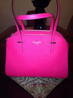 a513e41062f1b0 Love my new Kate Spade bag! It s the perfect color for Spring and the  perfect