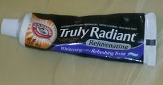 Arm & Hammer Truly Radiant tooth paste.I got this for free to do a review on it.