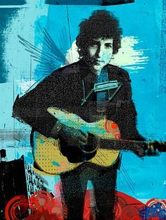Bob Dylan by Tim Marrs Bob Dylan Art, Pop Art Images, Music Artwork, Gcse Art, Human Emotions, Human Condition, Concert Posters, Illustrators, Graffiti