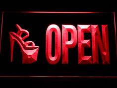 High Heel Shoes OPEN Shop Neon Light Sign