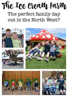 The Ice Cream Farm, Cheshire - Is this the perfect family day out in the North West? Days Out With Kids, Family Days Out, Cheshire Ice Cream Farm, Farm Kids, Chocolate Factory, North West, Places To Visit, Adventure, Baby