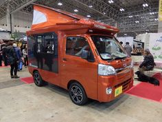 The Tentmushi is available with 4-wheel or rear-wheel drive