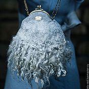 """Сумки и аксессуары ручной работы. Ярмарка Мастеров - ручная работа сумка """"Голубая мечта"""". Handmade."""
