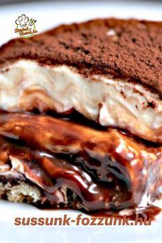 2 csésze tejszín, 2 csésze marscapone, 1 vaníliarúd, 2 tojás sárgája, 2 evőkanál cukor, 2 csésze nutella, 2/3 csésze zsíros tej, 12 darab babapiskóta, kakaópor( a tetejére ) Tiramisu, Nutella, French Toast, Sandwiches, Cukor, Breakfast, Food, Tailgate Desserts, Morning Coffee